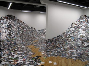 Erik Kessels, 24hrs in Photography Installation at CONTACT Gallery, Toronto, 2013